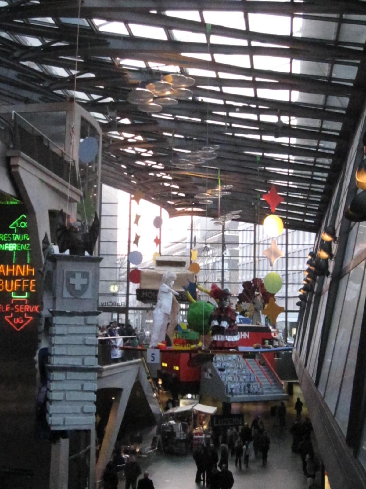 2011 – 20 Jahre Fasnachtsfieber im Bahnhof Luzern