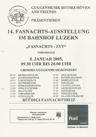 2005 – Fasnachtsziit